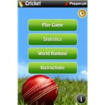 Cricket World Championship 20 Screen