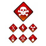 Warning Sign Icons (by digitalart)