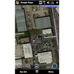 Google Maps Windows Mobile supports GPS