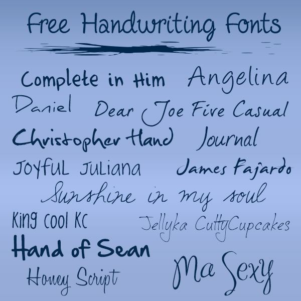 Fonts That Look Like Tattoos: Free Handwriting Fonts For Tattoos, Free Download Tattoo