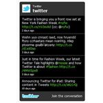 Official Twitter Widget from Twitter