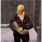 The Sims Medieval baby