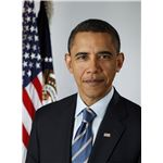 Official portrait of Barack Obama - author Pete Souza -