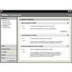 McAfee Security Center - E-mail and Instant Messaging