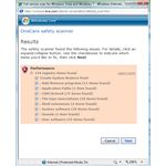 Registry Cleaning in Windows Live OneCare Safety Scanner