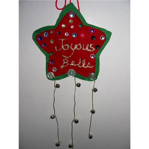 Classroom Christmas Craft Ideas Part - 25: Xmas Bells