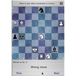 Chess Puzzle Challenge iPhone App