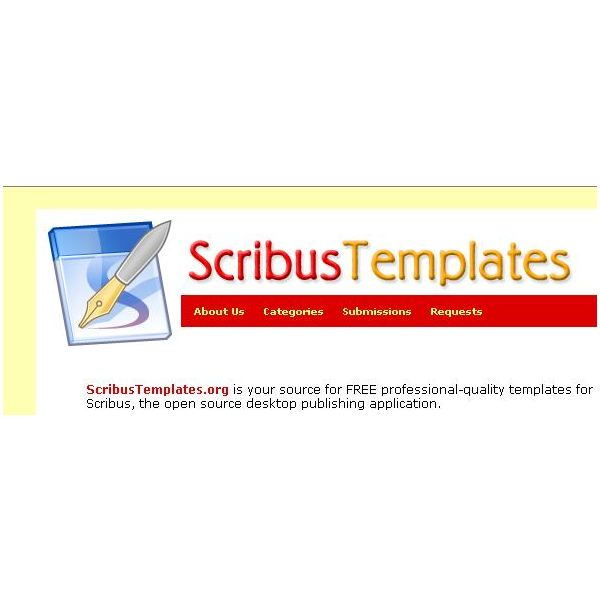 Use free scribus templates to save money and be more for Scribus brochure templates