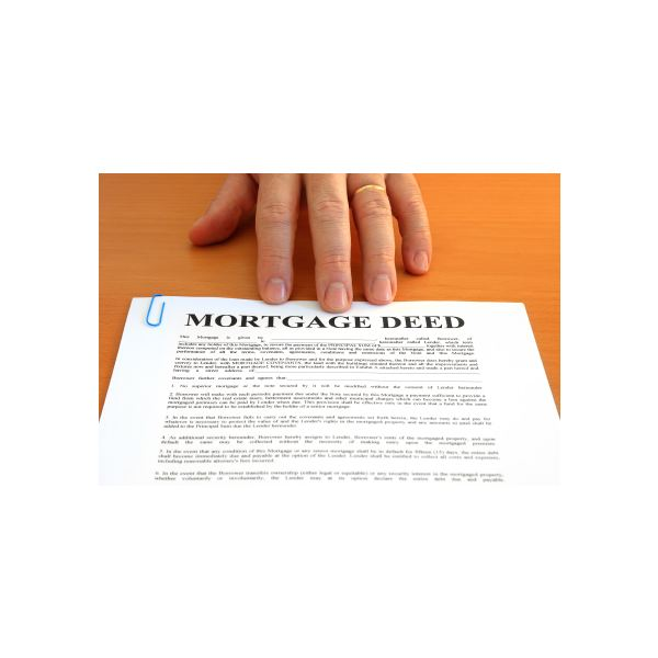 Deed property owner information and rights for Mortgage to buy land