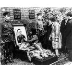Vladimir Komarob Funeral at the Kremlin Wall