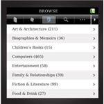 Screenshot Kobo App Browse Screen