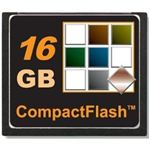 Topram 16GB Compact Flash CF Card for Nikon, Canon