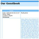 Five Free Guestbooks for your Website - free guestbooks