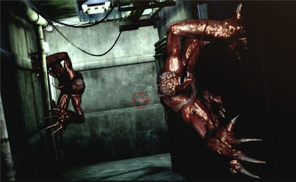 Lickers in Resident Evil 2