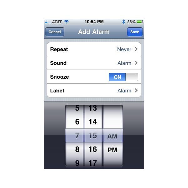 how to set multiple timers on iphone