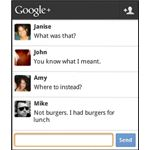 Google Huddle for G+