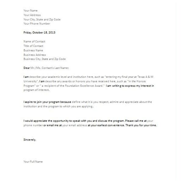 Three Letter of Intent Downloadable Templates – Template Letter of Intent