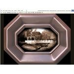Phto Subject 1: Effect: SEPIA - VIGNETTE - BORDER METAL FRAME