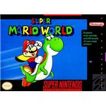 Super Mario World - Original Super Nintendo Box Art
