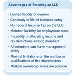 Advantages of Limited Liability Corporation