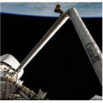 The original Canadarm, photo courtesy of NASA