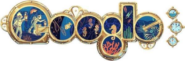 3. 20,000 Leagues Under the Sea Doodle