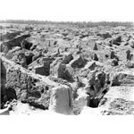 Ruins of Babylon photographed in 1932