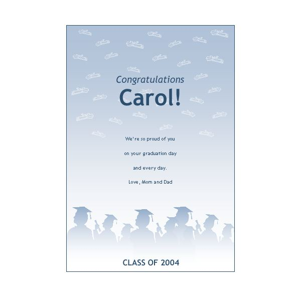Top 5 sources for free printable graduation stationery graduation template pronofoot35fo Images