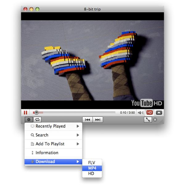 Mactubes Video Player
