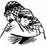 father hug son clip art 7152