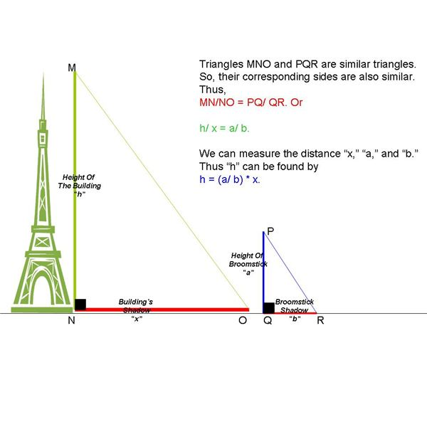 How to measure the height of tall buildings and for Building calculations