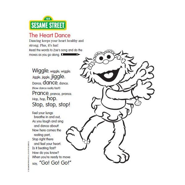 Zoe Sesame Street Coloring Page Sesame Street Coloring