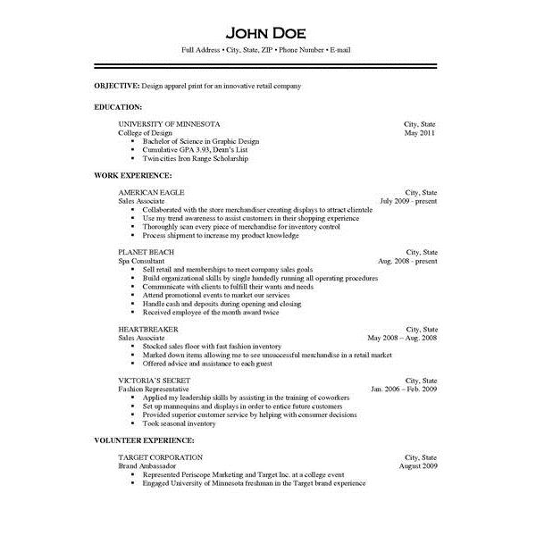 Sample Of Resume With Job Description | Resume CV Cover Letter