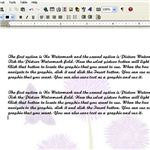 Microsoft Works Word Processor Beginner- inserting watermarks - watermark
