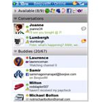 Use Beejive to chat with your Facebook friends.