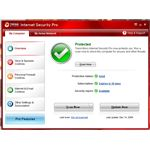 UI of Trend Micro Internet Security