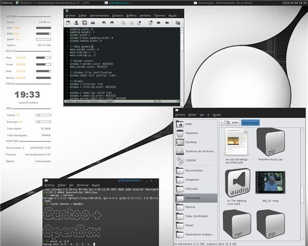 Gentoo + OpenBox