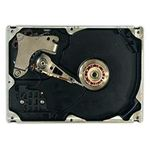 Hard disk dismantled