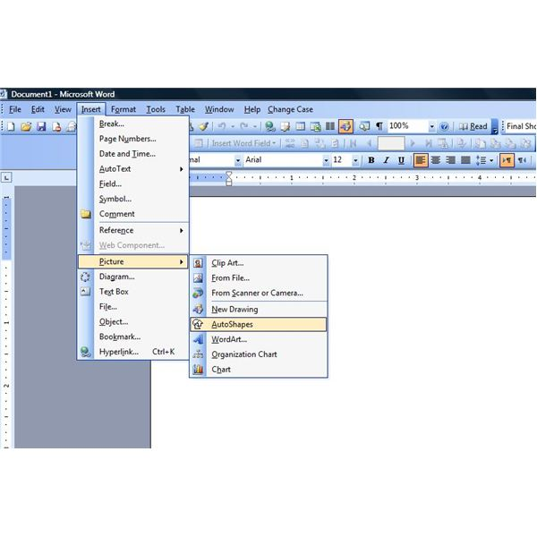 Drawing Lines With Word : Insert drawing toolbar excel how to make a