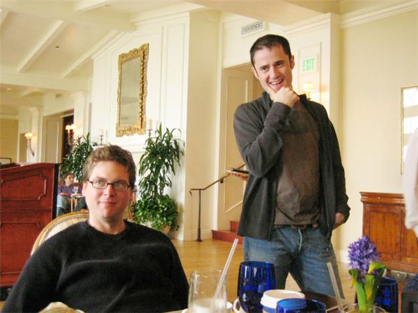 Evan Williams and Biz Stone, Co-Founders of Twitter