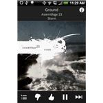 Pandora for Android on an HTC Hero