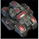 Starcraft 2 Terran Siege Tank