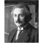 A 1921 Photograph of Albert Einstein