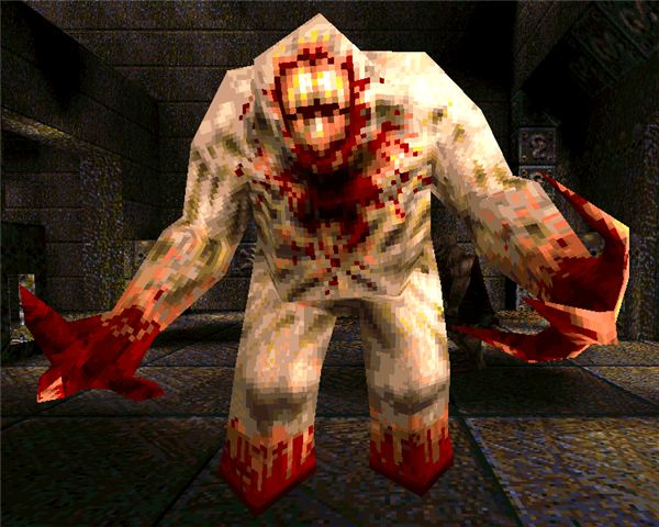 The Shambler in Quake