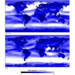 Wind speed climatology