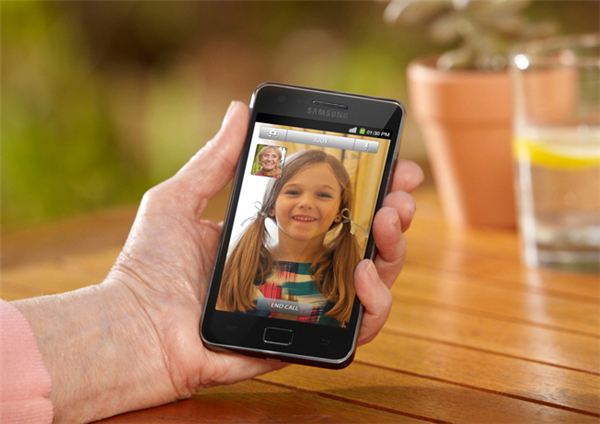 Samsung Galaxy S II Video Call