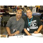 Michael Olmos and Bob Layton