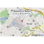 Blackberry Google Maps