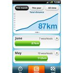 Runstar for Android Results