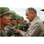 President Johnson's visit to Vietnam